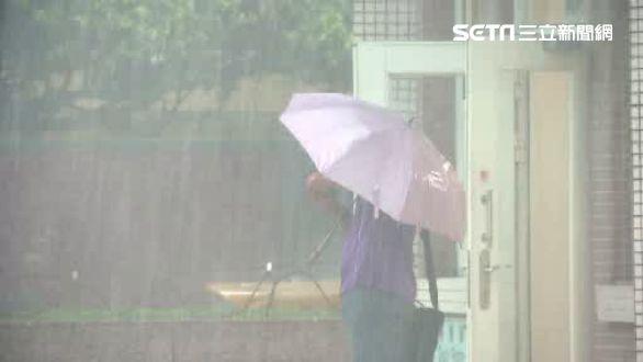高溫雷陣雨下不停 週一降雨區有變化