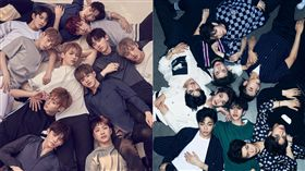 Wanna One,NINE PERCENT/翻攝自Naver、微博