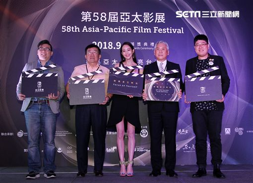 張鈞甯擔任2018亞太影展大使。(記者邱榮吉/攝影)
