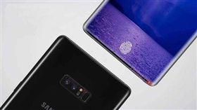 三星,Note9,屏下指紋技術,配置,高通845,Exynos9810,處理器,指紋辨識 圖/手機中國