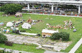 華山分屍案 北市都更處令停止草原活動