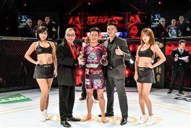 ▲台灣UFC第1人李俊翰。(資料照/武界體育提供)