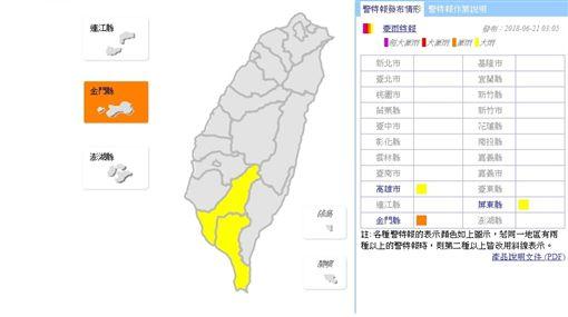 大雨狂瀉!南台灣發布大雨特報 北部悶熱午後慎防雷陣雨