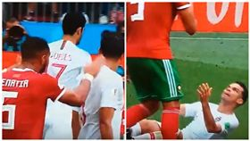 球星,葡萄牙,摩洛哥之戰,貝納提亞(Medhi Benatia),佩佩(Pepe),世足賽(圖/翻攝自youtube AktualŠport)