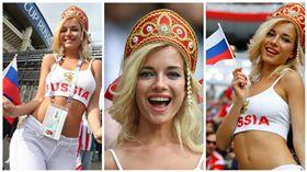 世界盃,世足,最性感女球迷,俄羅斯,金髮美女,涅米諾娃(Natalya Nemchinova) (圖/翻攝自臉書)