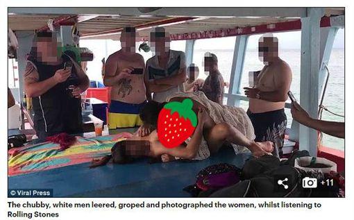 泰國,藍色公路,性慾覺醒船,性愛,Stephen Allan Carpenter(翻攝每日郵報)