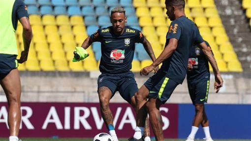 Neymar,內馬爾(圖/取自巴西足協官方推特)