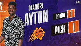 選秀狀元DeAndre Ayton。(圖/翻攝自NBA推特)