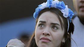 阿根廷意外敗給克羅埃西亞,阿根廷球迷失望。(圖/美聯社/達志影像)
