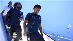 ▲巴西要求球員減少使用手機。(圖/取自巴西足協 IG)