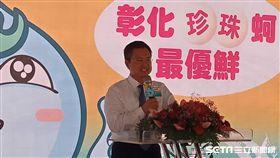 彰化縣長魏明谷尋求連任,北上推銷彰化農產品,綠營官員總動員(記者李英婷攝)