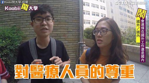 許多學生選擇到國外工作。(圖/翻攝自Koobii鬧大學臉書)