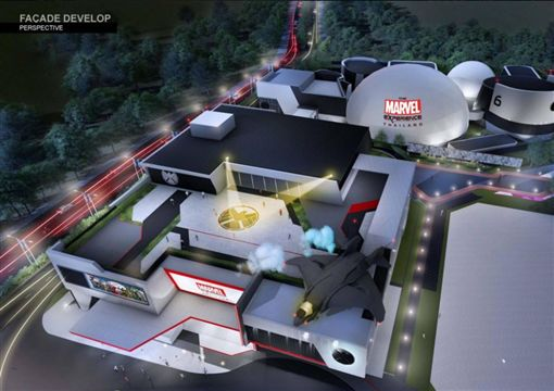 漫威 泰國 漫威基地  圖/翻攝自The Marvel Experience Thailand官方臉書