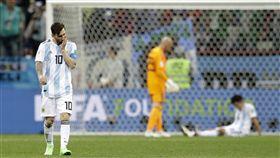 梅西(Lionel Messi)世界盃回顧。(圖/美聯社/達志影像)