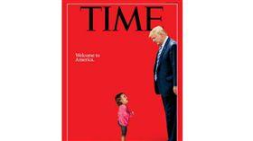 美國,移民,女童,哭泣,時代雜誌 圖/翻攝自時代雜誌官網