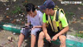 少年,輕生,海中,散步,救回,消防員,警方,女友,台南