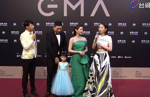朱海君也帶著老公NONO、女兒NO妹(圖/翻攝自YouTube)