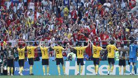 ▲比利時世界盃前2場比賽都痛宰對手。(圖/美聯社/達志影像)