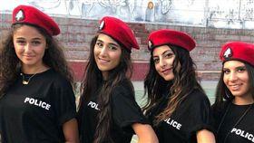 黎巴嫩,市容,觀光,警察,女警,性感 圖/翻攝自推特