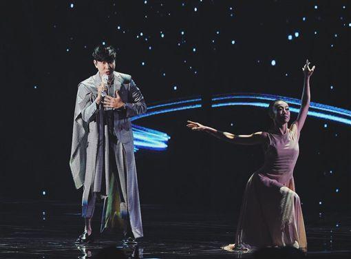 ▲▼林俊傑昨晚雖沒得獎,但表演依舊驚豔全場。(圖/翻攝自臉書)