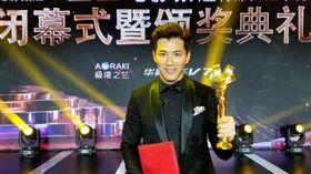 藝人黃少祺主演電影《信仰者》入圍第21届上海國際電影節「電影頻道傳媒關注單元影片」,並榮獲「特別榮譽獎」。(照片由華人創作提供)