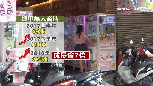 「無人店」攻占逢甲商圈 一年激增200家 ID-1415964