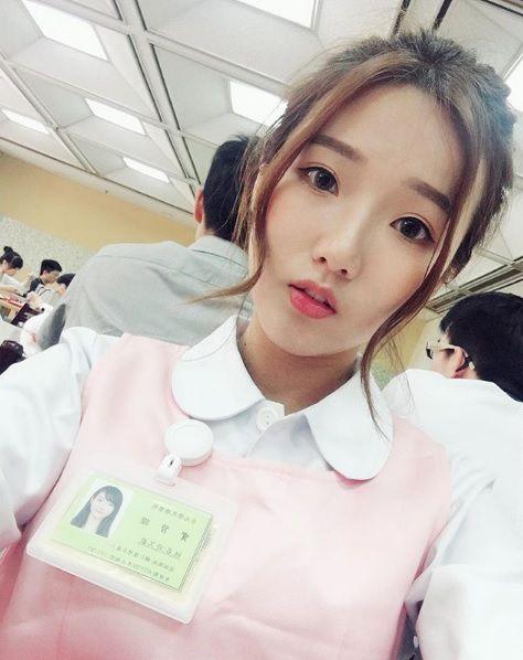 台灣護理正妹「歡歡」登日媒(圖/翻攝自歡歡IG)