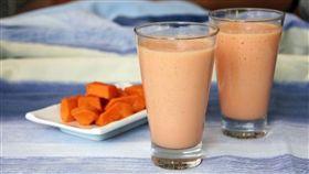 木瓜牛奶、現榨果汁、果汁、飲料、冷飲(圖/翻攝自pixabay)