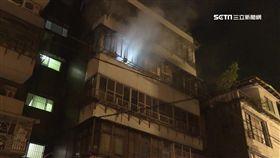 木柵公寓夜半竄火 一家6口一度受困嗆傷送醫