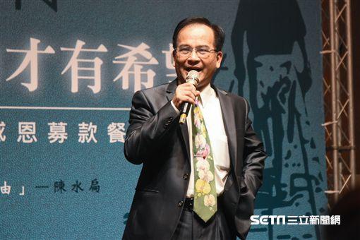 前台南縣長蘇煥智。 圖/記者林敬旻攝