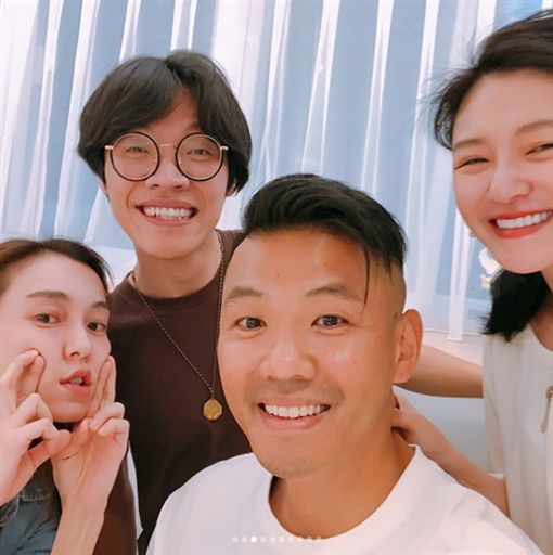盧廣仲,范瑋琪,大S,小S,黑人 /翻攝自IG