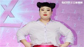 日本動感女神渡邊直美展現熱情活潑可愛登台。(記者邱榮吉/攝影)