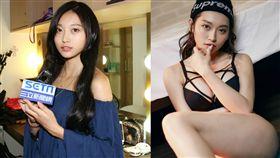 人氣模特兒 「G奶周子瑜」祈錦鈅開啟歌手之路。 (圖/固力狗娛樂)