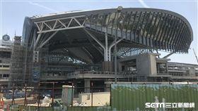 台中車站,改建。(圖/記者馮珮汶攝)