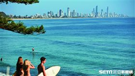 澳洲旅遊,黃金海岸,海灘,衝浪(圖/澳洲昆士蘭州旅遊暨活動推廣局提供)