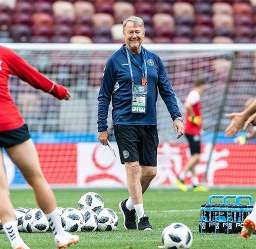 ▲丹麥足球隊總教練哈雷德。(圖/取自丹麥足協IG)