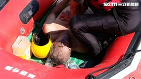 釣客,落水,無呼吸,搜救,報案,急救,新店