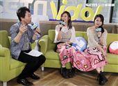 米亞若&紀妍安安大明星。(記者邱榮吉/攝影)