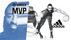 James Harden訪台(圖/adidas提供)