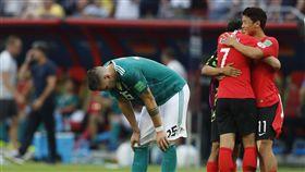 ▲德國隊在俄羅斯世界盃敗給韓國,隊史首次敗給亞洲球隊。(圖/美聯社/達志影像)