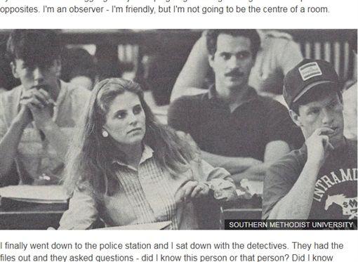 懸案破了!一名女子安琪拉(Angela Samota)1984年遭姦殺,但案情情陷入膠著,警方遲遲未能破案。過了20年,她的室友謝拉(Sheila Wysocki)看到安琪拉的靈魂對她微笑後,決定重啟調查,成功破了長達20年的姦殺案!(圖/翻攝自BBC)