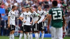 德國隊輸給墨西哥、韓國。(圖/取自德國隊推特)