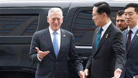 美國國防部長馬提斯(Jim Mattis) 圖/路透社/達志影像
