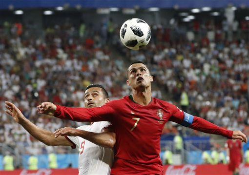 C羅(Cristiano Ronaldo)。(圖/美聯社/達志影像)