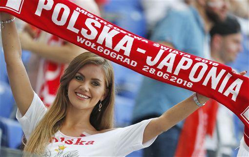 日本、波蘭小組賽交手。(圖/美聯社/達志影像)