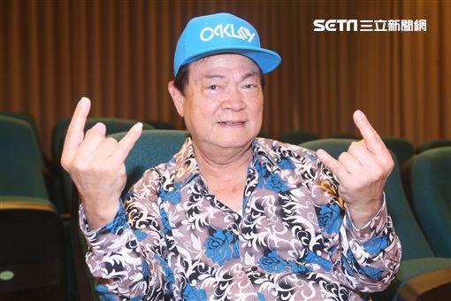 劉福助對於金曲表演引發熱烈迴響感到意外。(圖/記者蔡世偉攝影)