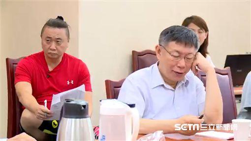 邰智源當柯文哲的一日幕僚