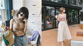 網紅空姐外遇偷吃攝影師 合成圖翻攝自當事人臉書