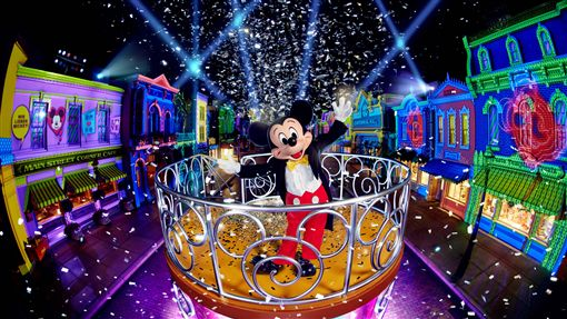 香港迪士尼打造「迪士尼巨星嘉年華」。(圖/香港迪士尼提供)