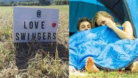 Swingfields,高潮,野青地,英國,情侶,淫趴,派對,按摩棒,情趣用品,電音 圖/翻攝自推特 https://goo.gl/RE8CGd